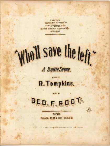 Sheet Music - Who'll save the left