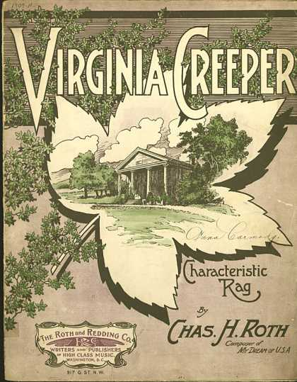 Sheet Music - Virginia creeper