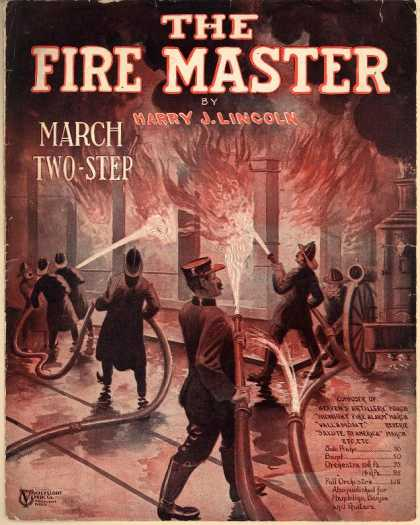 Sheet Music - The fire master march and two step