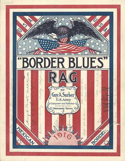 Sheet Music - Border blues