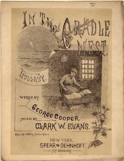 Sheet Music - In the cradle nest; Lullaby