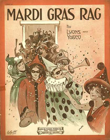 Sheet Music - Mardi gras rag