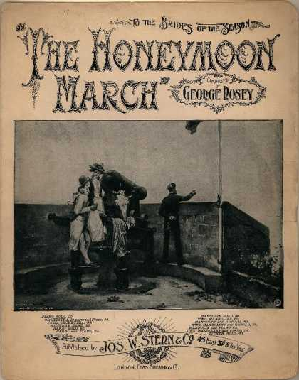 Sheet Music - Honeymoon march