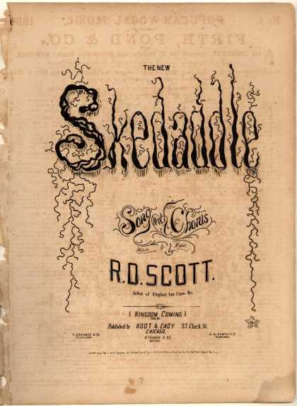 Sheet Music - New skeddadle