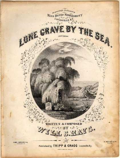 Sheet Music - Lone grave by the sea