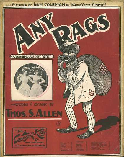 Sheet Music - Any rags?