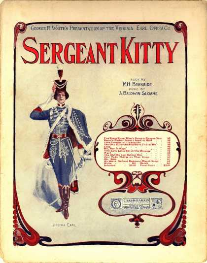 Sheet Music - Love; Sergeant Kitty