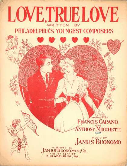 Sheet Music - Love, true love