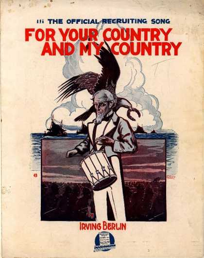 Sheet Music - For you country and my country