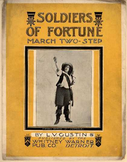 Sheet Music - Soldiers of fortune march two-step