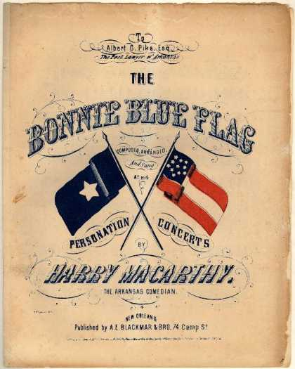Sheet Music - Bonnie blue flag