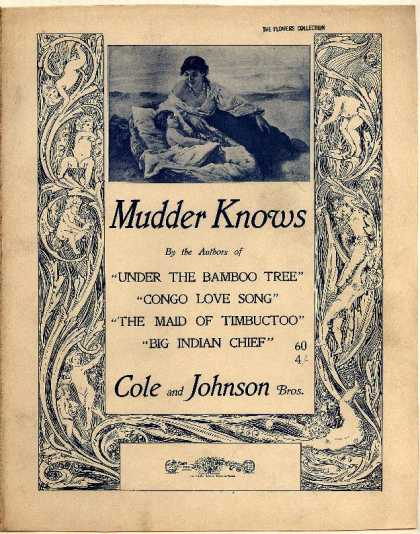 Sheet Music - Mudder knows