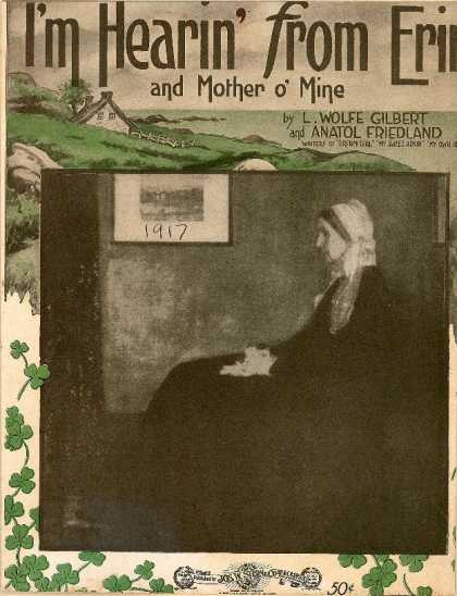 Sheet Music - I'm hearing' from Erin and mother o'mine