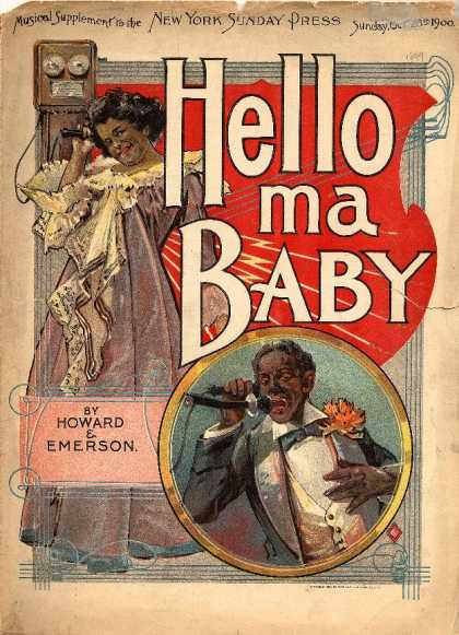 Sheet Music - Hello ma baby