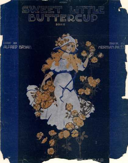 Sheet Music - Sweet little buttercup