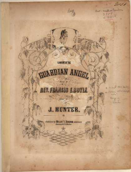 Sheet Music - Lament of the guardian angel