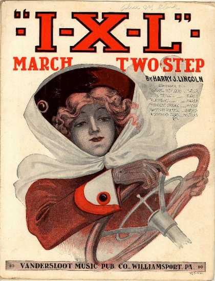 Sheet Music - I-X-L march two-step