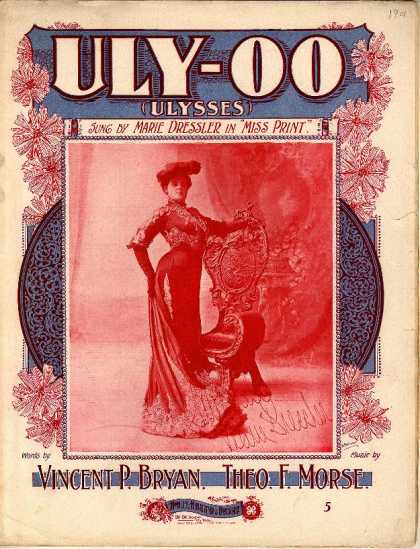 Sheet Music - Uly-oo; Ulysses; Miss Print
