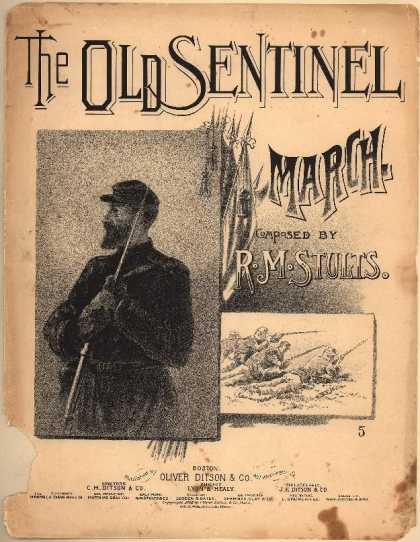 Sheet Music - The old sentinel march