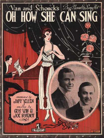 Sheet Music - Oh how she can sing
