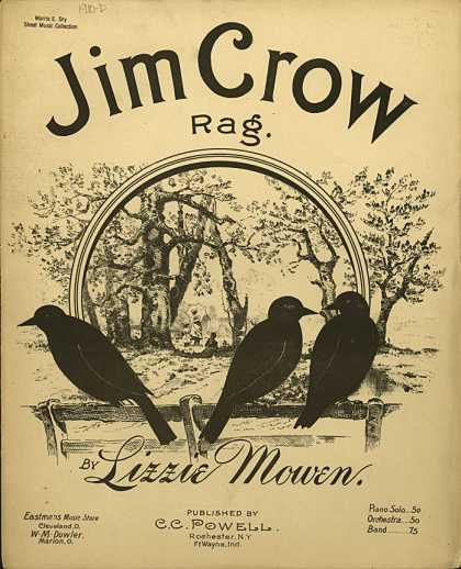 Sheet Music - Jim Crow rag