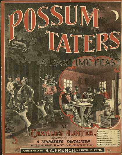 Sheet Music - Possum and taters