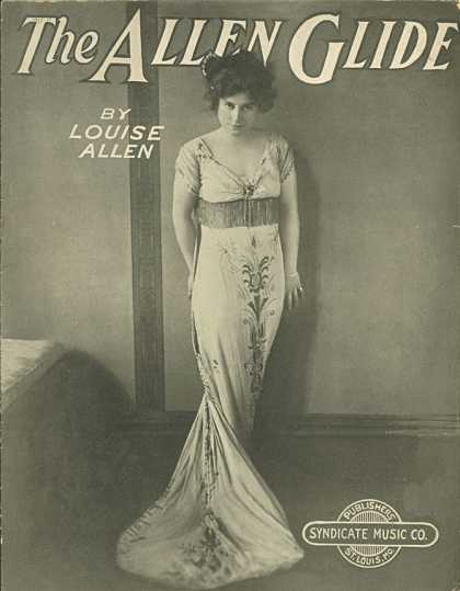 Sheet Music - The Allen glide