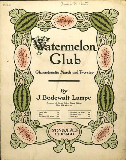 Sheet Music - Watermelon club