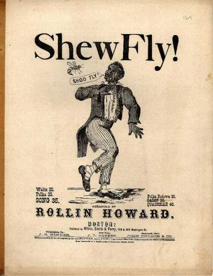 Sheet Music - Shew fly!; Shoo fly!; op. 14; Shew fly! don't bother me