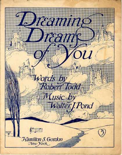 Sheet Music - Dreaming dreams of you