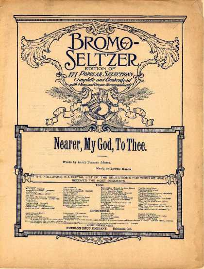 Sheet Music - Nearer, my God, to thee