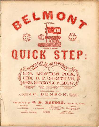 Sheet Music - Belmont quick step; Share my cottage