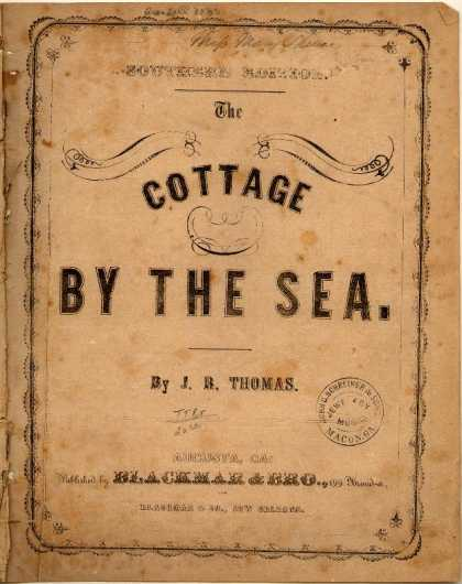 Sheet Music - Cottage by the sea