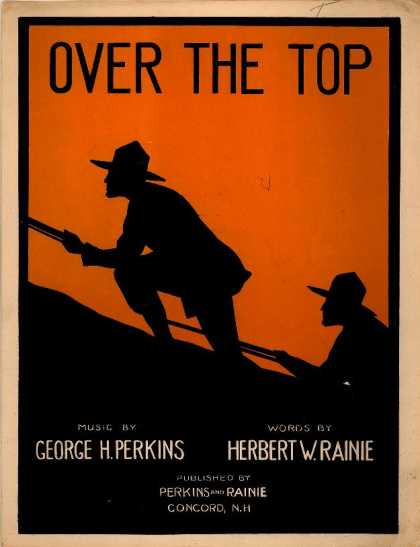 Sheet Music - Over the top