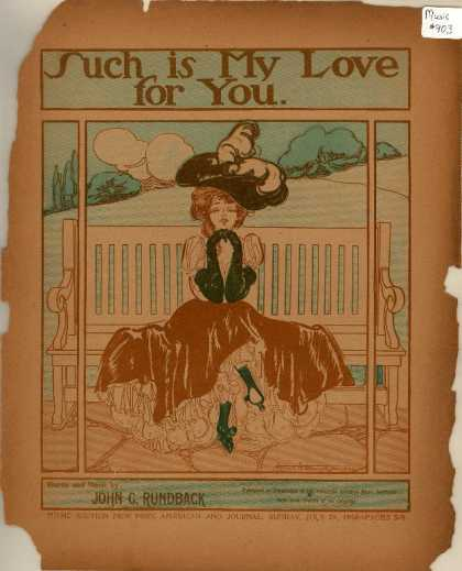 Sheet Music - Such is my love for you