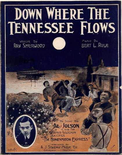 Sheet Music - Down where the Tennessee flows