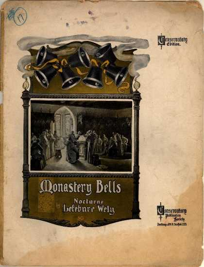 Sheet Music - Monastery bells; Cloches du monastere; Nocturne; Op. 54