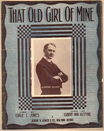 Sheet Music - That old girl of mine