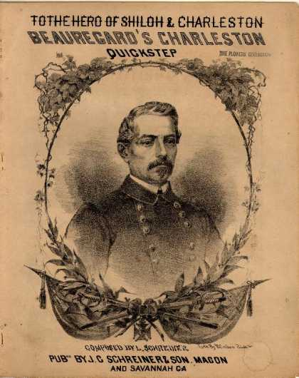 Sheet Music - Beauregard's Charleston quickstep