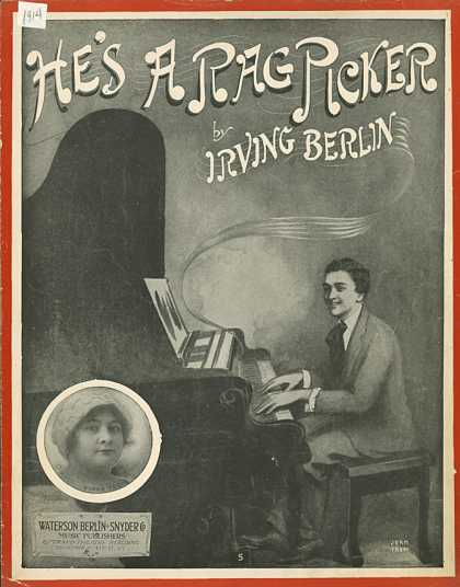 Sheet Music - He's a rag picker