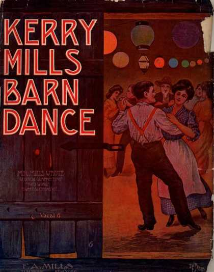 Sheet Music - Barn dance