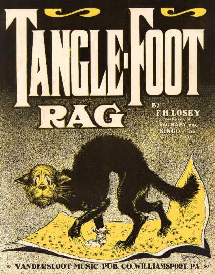 Sheet Music - Tangle-foot rag; Op. 300; Tanglefoot rag