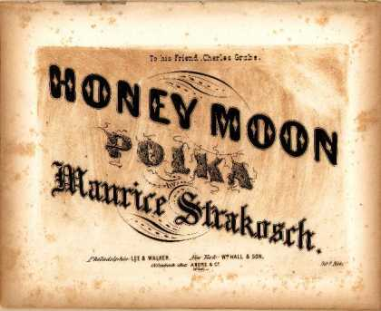 Sheet Music - Honey moon polka