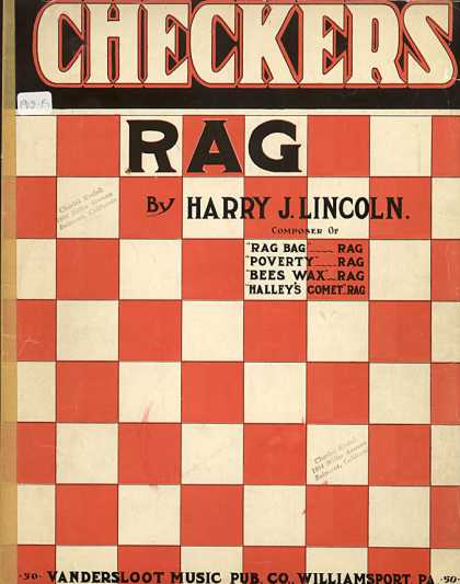 Sheet Music - Checkers