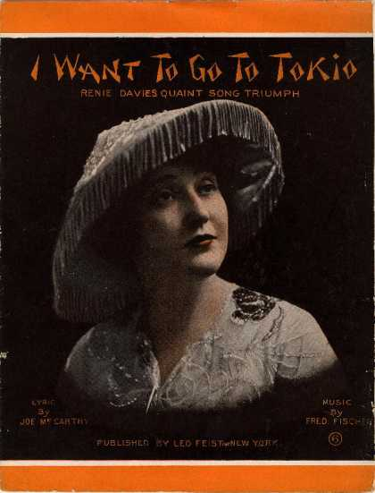 Sheet Music - I want to go to Tokio
