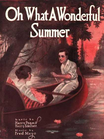 Sheet Music - Oh what a wonderful summer