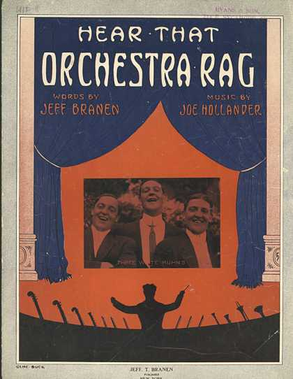 Sheet Music - Hear that orchestra rag