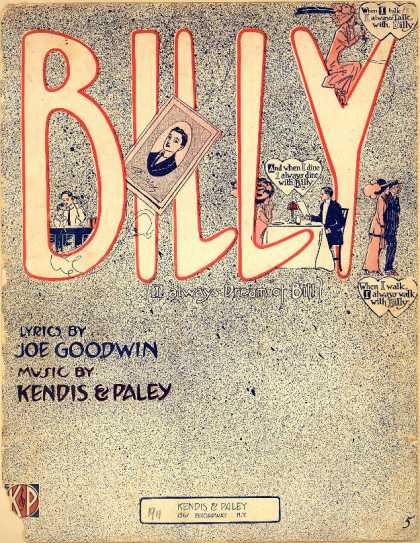 Sheet Music - Billy; I always dream of Bill