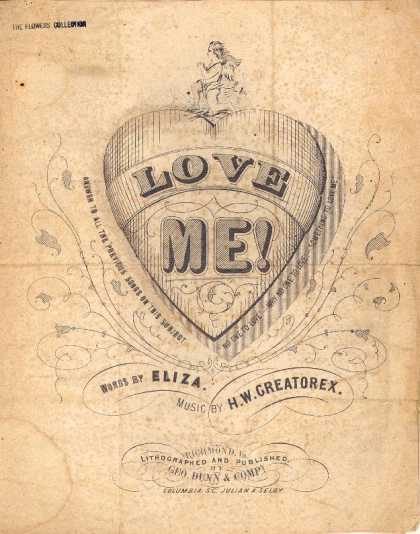 Sheet Music - Love me!