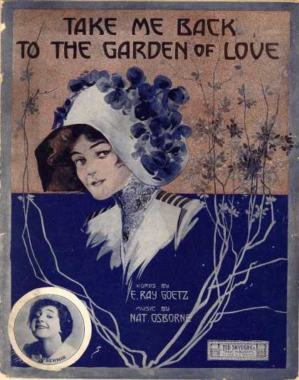 Sheet Music - Take me back to the garden of love